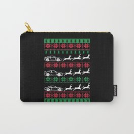 Car Lover Xmas Ugly Christmas Sweater Carry-All Pouch