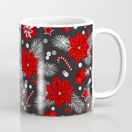 Christmas decoration pattern design Coffee Mug