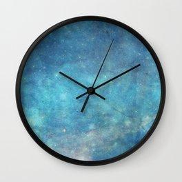 Spellcast Sky Turquoise Wall Clock