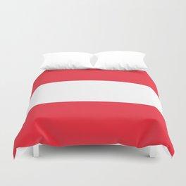 flag of austria -,Österreich,Austrian,Österreicher,Vienna,Salzburg,Mozart, Schoenberg Duvet Cover