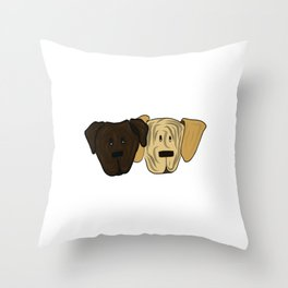 The Brindles Throw Pillow