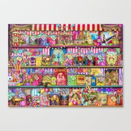 The Sweet Shoppe Canvas Print