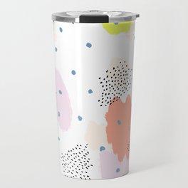 Blotchy Pattern Travel Mug