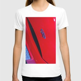 Chery QQ Electric Front Red T-shirt