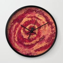 Blood Rose Wall Clock