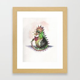 Tales for tails Framed Art Print
