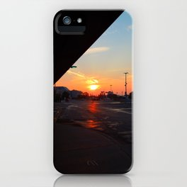 Sunrise, Montmorency Station iPhone Case