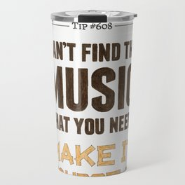 D. I. Y. — Music Snob Tip #608 Travel Mug