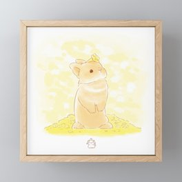 Spring bun Framed Mini Art Print
