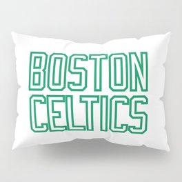 Boston Basketball Pillow Sham