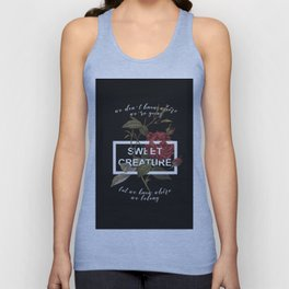 Harry Styles Sweet Creature Unisex Tank Top