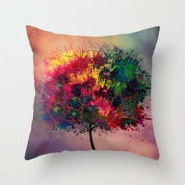 Love in Fall Throw Pillow