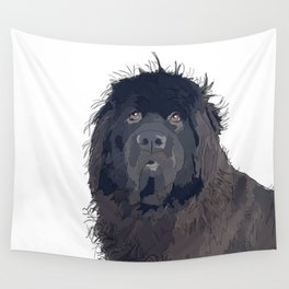 Newfoundland Dog Wall Tapestry