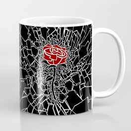 The Shattered Rose Coffee Mug