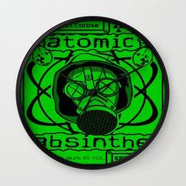 Atomic Absinthe Wall Clock