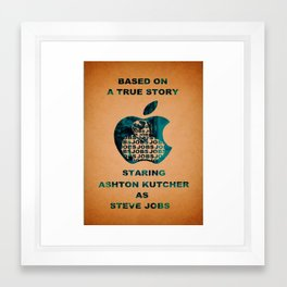 JOBS Movie Poster Framed Art Print