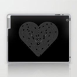 The Heart Maze Laptop & iPad Skin