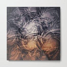 Swirls #1 Metal Print
