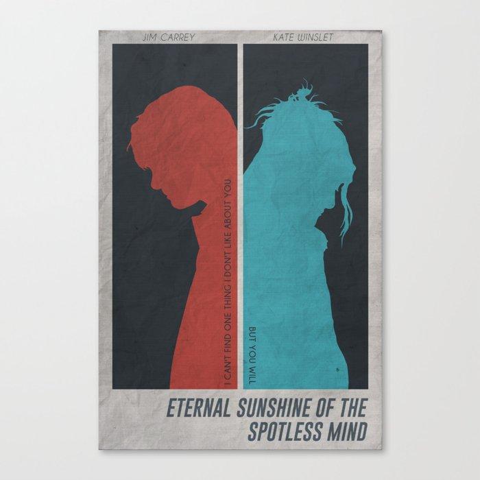 Eternal Sunshine of the Spotless Mind - Poster Leinwanddruck