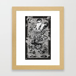 Dickhead Framed Art Print