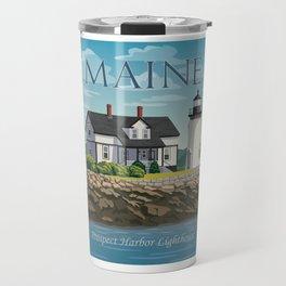 Prospect Harbor Lighthouse Travel Mug