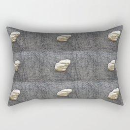Gold Stone Rectangular Pillow