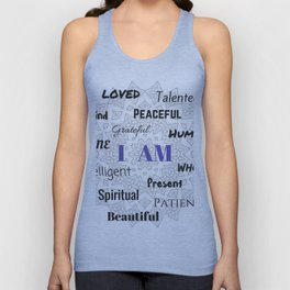 I AM... Positive Affirmation Unisex Tank Top