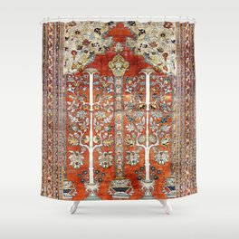 Silk Tabriz Northwest Persian Rug Print Shower Curtain