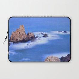 """""""Sirenas azules. Blue mermaids"""" Laptop Sleeve"""