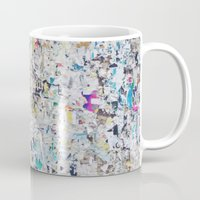 posters Mugs featuring Old posters by katti