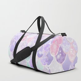 Mermaid Pastel Iridescent Duffle Bag