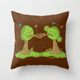 Treenagers Throw Pillow