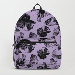 Beta Fish Lavender Backpack