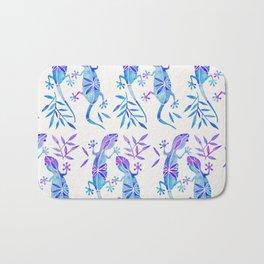 Geckos – Indigo Palette Bath Mat