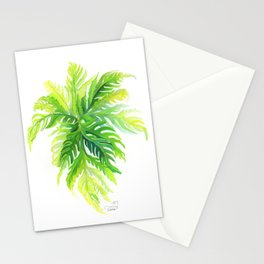 Angel Wing Fern Stationery Cards