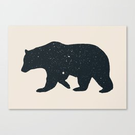 Bär Canvas Print