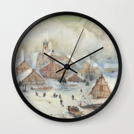 Christmas carols Wall Clock