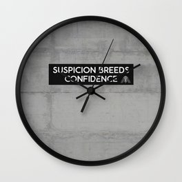 We're All in this Together Wall Clock