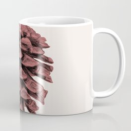 Red Pine Cone Coffee Mug