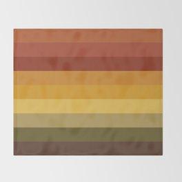Melancholic Mood Throw Blanket