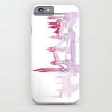 Watercolor landscape illustration_London Slim Case iPhone 6s