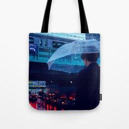 Tokyo Nights / Rain over Tokyo / Liam Wong Tote Bag