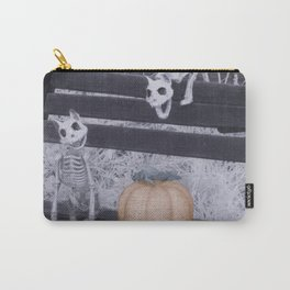 Cat Skeletons for Halloween Carry-All Pouch