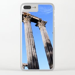 Diana Temple Clear iPhone Case