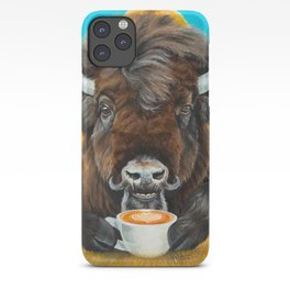 Bison Latte iPhone Case
