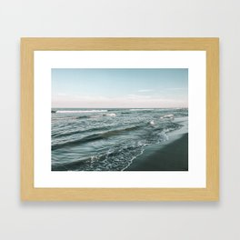 Hampton Beach, NH. 2019 Framed Art Print