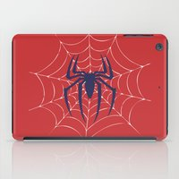 spider iPad Cases featuring Spider by Vickn