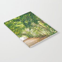 in green summer light Notebook