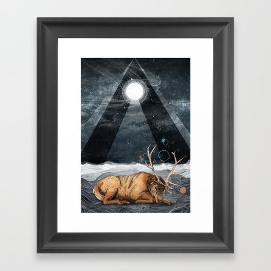 The Unsleeping Dream Framed Art Print