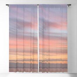 Light Pastel Stripe Photo by Christie Olstad Blackout Curtain